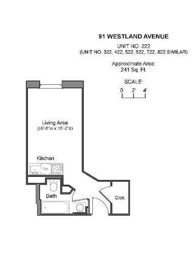 91 Westland Avenue Apt 422 Photo 1